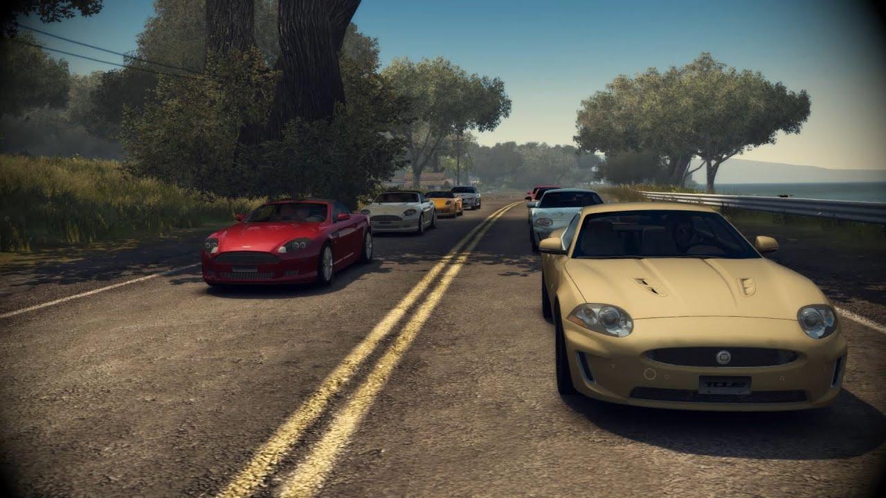 TDU2-RS Jaguar XKR Race 1 - YouTube