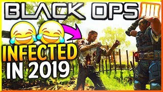 WE PLAYED INFECTED AND THIS HAPPENED...(Black Ops 4 Funny Moments)