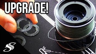 Drag Washer Replacement - Carbontex Drag Washer Upgrade