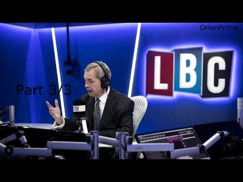 Nigel Farage Presenting LBC Drive: Gambling Industry 4pm-7pm Part 3/3 - 31st August 2017