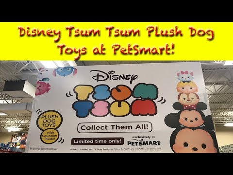 Disney Tsum Tsum Plush Dog Toys at PetSmart!