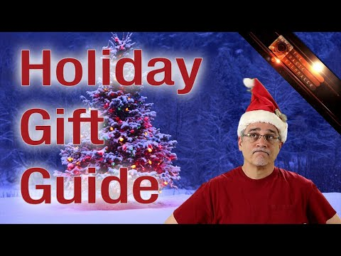 The Big Cheap Expensive Silly Long Filmmaking 2014 Holiday Gift Guide - Basic Filmmaker Ep 112