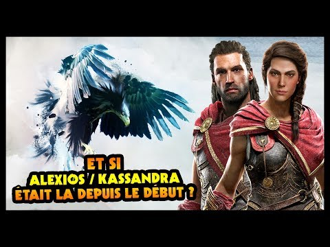ET SI ALEXIOS/KASSANDRA ÉTAIT LA DEPUIS LE DÉBUT ? (Assassin's Creed) thumbnail