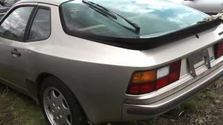 ヤフオクで競り合って24万円で神奈川県の方から買った平成2年型ポルシェ944。まさにスポーツカーであった\(^o^)/ thumbnail