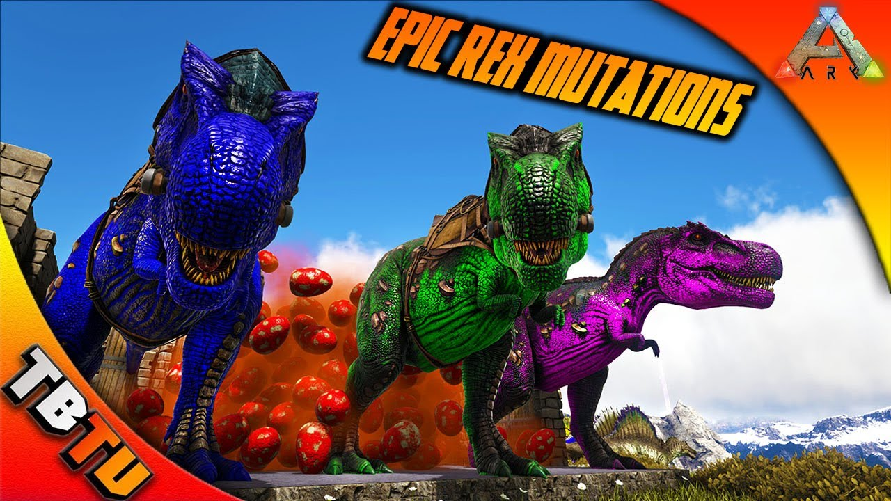 Lovely 2,000 REX EGGS! 20k SUBSCRIBER SPECIAL! EPIC REX COLOR MUTATIONS! Ark  Survival Breeding Evolved