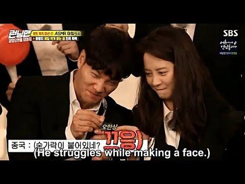 Song Ji Hyo, Kim Jong Kook and Lee Kwang Soo Funny Moment EP 410