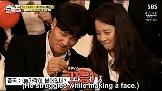 Video Song Ji Hyo, Kim Jong Kook and Lee Kwang Soo Funny Moment EP 410 download MP3, 3GP, MP4, WEBM, AVI, FLV Agustus 2018