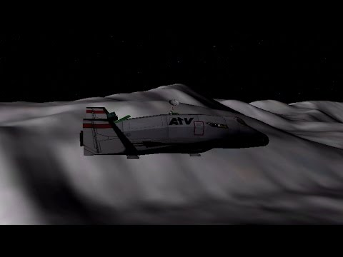 ORBITER 2016 - Deltaglider IV Mountain Skimming Low Moon Orbit