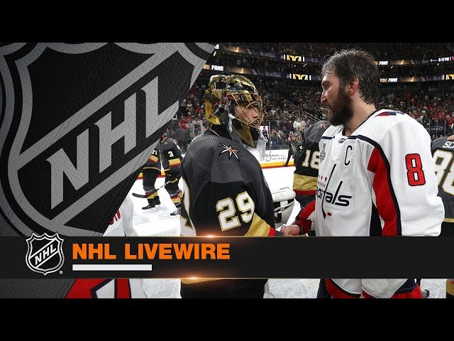 NHL LiveWire: Capitals, Golden Knights mic'd up for Cup-clinching Game 5