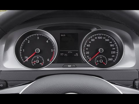 Reset Oil Service Light on VW Golf 7 / Golf VII - Easy & Fast