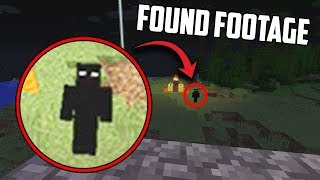 I left Minecraft running at 3:00 AM and I caught something on video... (NULL SHOWED UP)