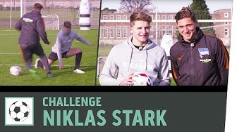 1 gegen 1 mit Zielschießen vs. Bundesliga-Profi Niklas Stark | Hertha BSC | Kickbox