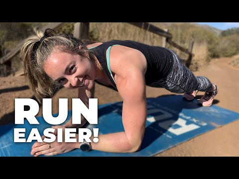 10 Minutes to Easier Running | Follow Along Core Strength