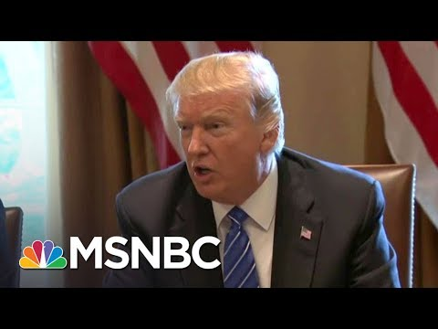 Donald Trump Dines With Democrats, Hoping To Save Agenda | The Last Word | MSNBC