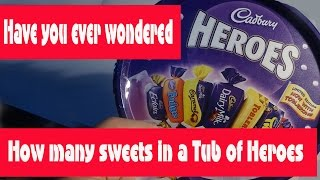 Heroes   How Many Sweets In A Tub?