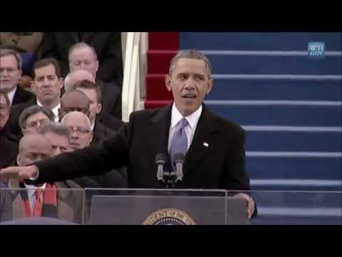 President Obama's 2013 Inaugural Address; a Call to Action on Climate Change