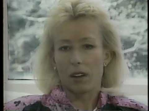 1990 Wimbledon Semifinal Martina Navratilova vs Gabriela Sabatini (1/2)
