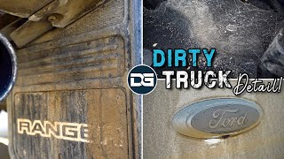 Deep Cleaning a Filthy HAIRY Truck | Pet Hair Removal and Satisfying Car Detailing!