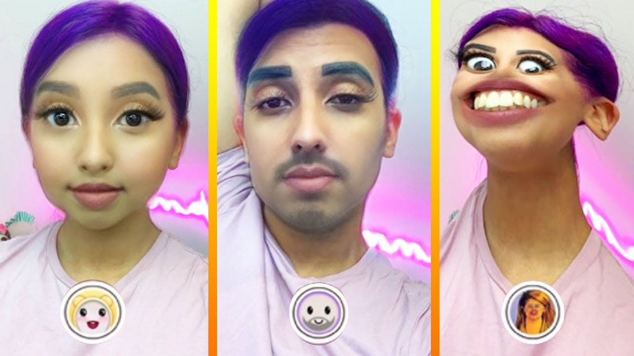 Snapchat filters on photos
