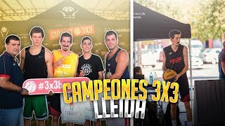 CAMPEONES 3x3 LLEIDA    Reacciono a la Semifinal contra el MEJOR equipo de ESPAÑA    FLOPPBALL
