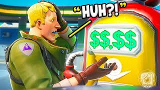 OPENING a GAS STATION in FORTNITE? (Fortnite Challenge)