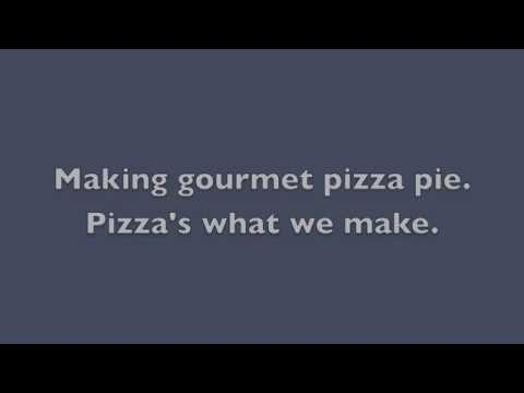 Gourmet Goat Pizza