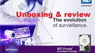 Video WD Purple Unboxing surveillance  hard drive HDD review download MP3, 3GP, MP4, WEBM, AVI, FLV November 2017