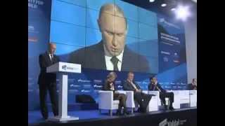 Vladimir Putin Meets with Members the Valdai International Discussion Club
