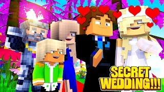 Minecraft LOVE || LEAH AND DONNY ARE FINALLY MARRIED || SECRET WEDDING!!!