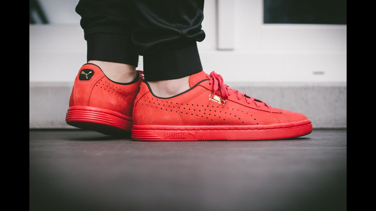 Puma Court Star OG – High Risk All Red | On Feet