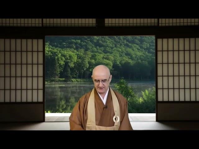 Golden Wind Sesshin Closing Remarks by Chigan Roshi 2021.9.26
