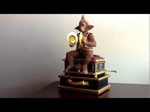 My Phantom of the Opera Monkey Music Box