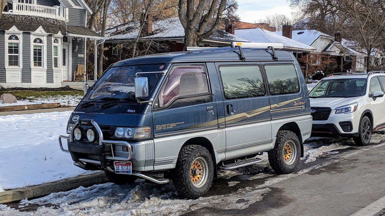 93 Mitsubishi Delica L300 Star Wagon Jasper Edition