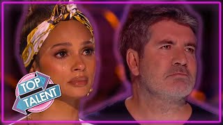 TOP 5 EMOTIONAL Magician Auditions On Britain's Got Talent!   Top Talent