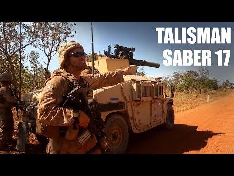 Training with Australia | Talisman Saber 17