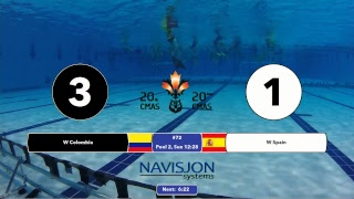 G72 - EW COL vs. ESP - 20th CMAS Underwater Hockey World Championships