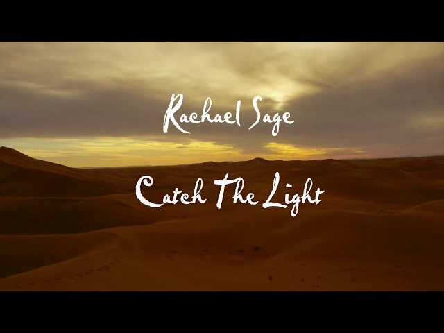Rachael Sage - Catch The Light (Acoustic) - Official Lyric Video