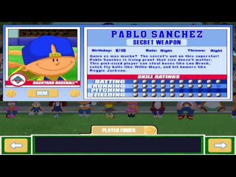 Let's Play Backyard Baseball 2003 - INTRO & Meet the Characters, Pt. 1