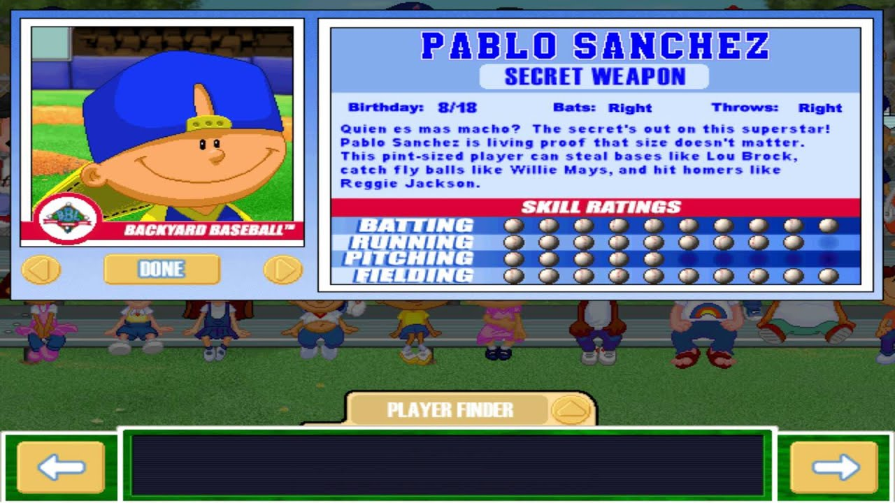 Letu0027s Play Backyard Baseball 2003   INTRO U0026 Meet The Characters, Pt. 1    YouTube