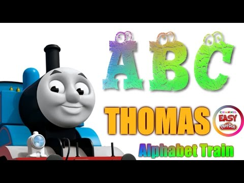 Thomas, The Train - Alphabet For Memorize - loop  - Learn The Alphabet ABC