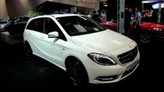 2013 Mercedes-Benz B-Class Exterior and Interior at 2012 Toronto Auto Show - CIA