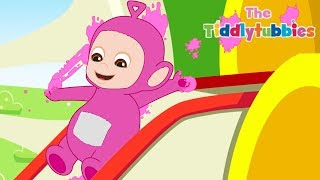 Tiddlytubbies 2D Series! ★ Episode 4: Tubby Custard ★ Teletubbies Babies ★ Cartoon for Kids