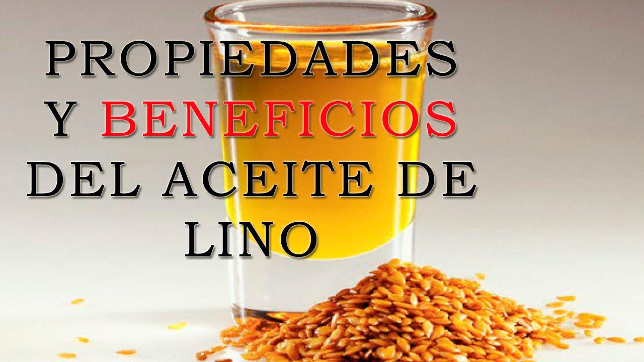 Beneficios del aceite de lino en ayunas
