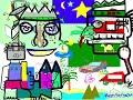 Animation Fresque Participative Télétravail BFM Clic Après-Midi - Time lapse