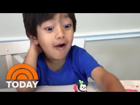 Forbes Features A 6-Year-Old Boy Who Made $11 Million Reviewing Toys On YouTube | TODAY thumbnail