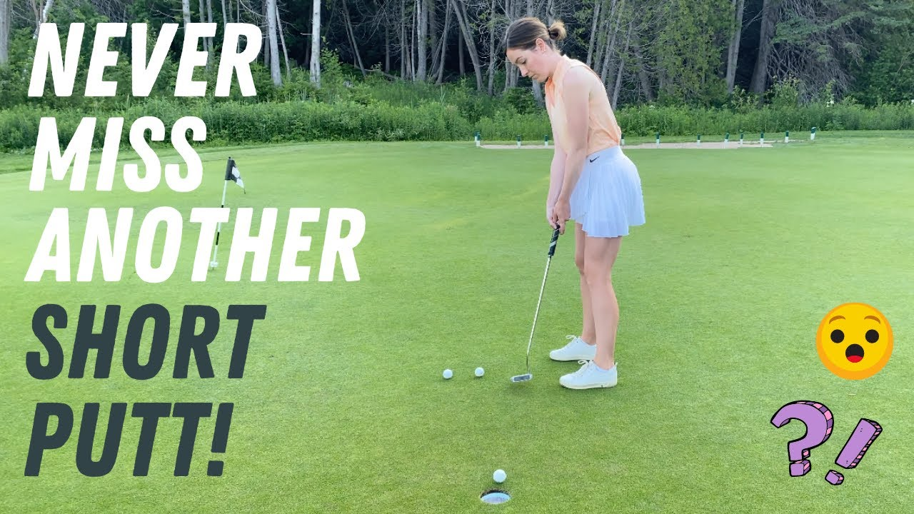 NEVER MISS ANOTHER SHORT PUTT ON THE GOLF COURSE-TREMENDOUS PUTTING INSIGHT!!