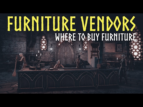 ESO Homestead: Furniture Vendors Guide - Where to buy furniture in The Elderscrolls Online (ESO)