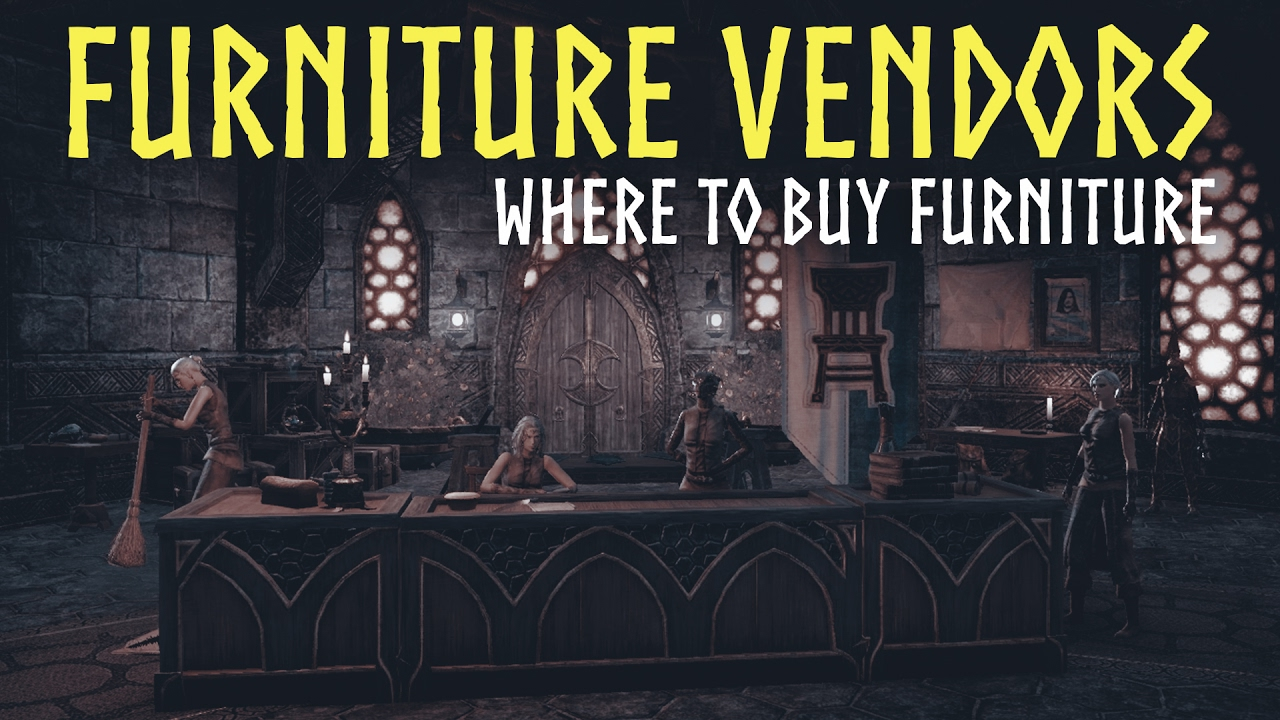 Attrayant ESO Homestead: Furniture Vendors Guide   Where To Buy Furniture In The  Elder Scrolls Online (ESO)