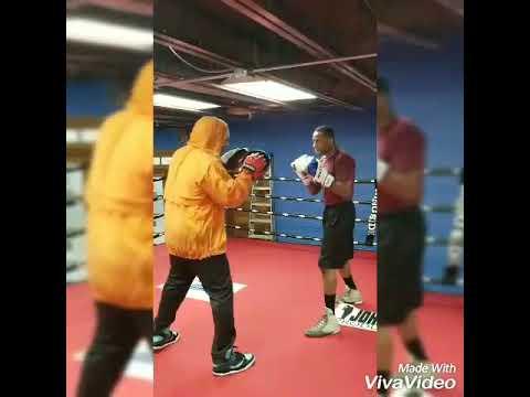 Preston Sain Boxing Training in Grand Rapids MI