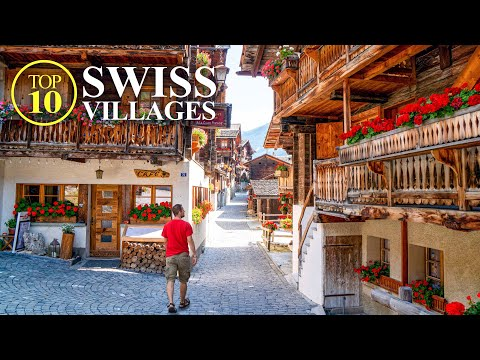 Top 10 Villages of SWITZERLAND – Most beautiful Swiss Towns – Best Places [Full Travel Guide]